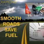 Smooth roads save fuel