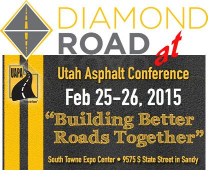 You are currently viewing Diamond Road Smoother at Utah asphalt pavement association conference