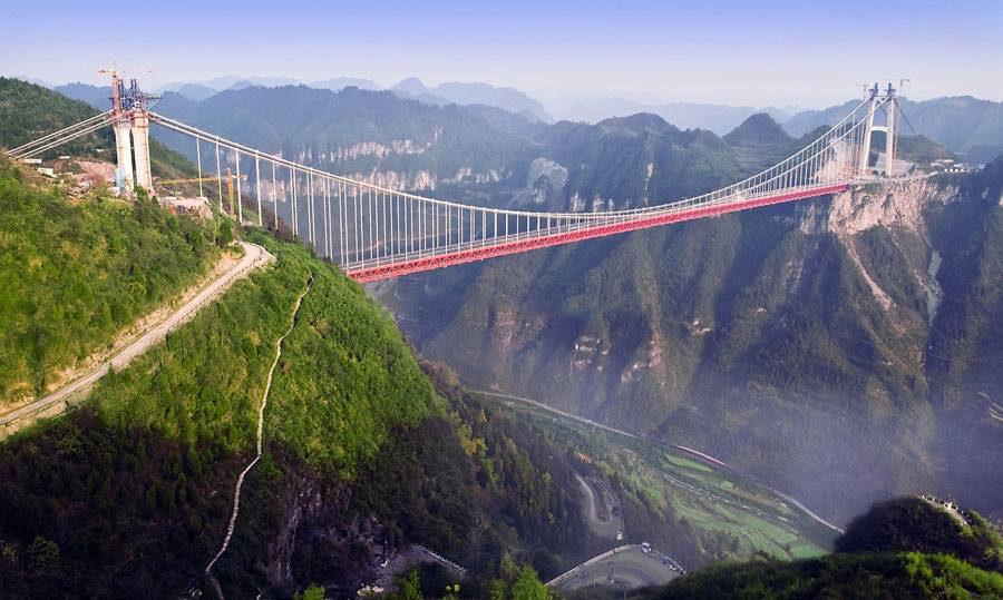 Aizhai Suspension Bridge