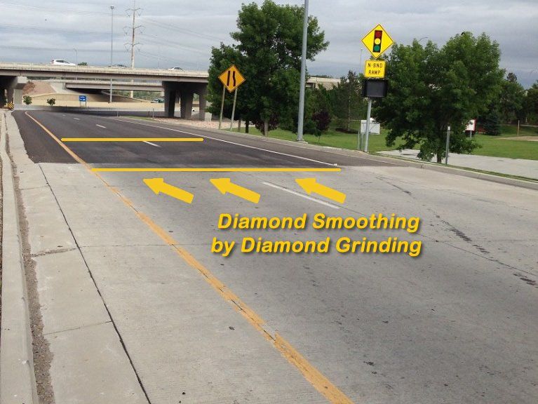 Diamond smoothing